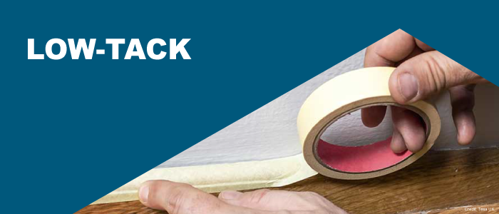 Low-Tack Masking Tapes | Univar Specialty Consumables