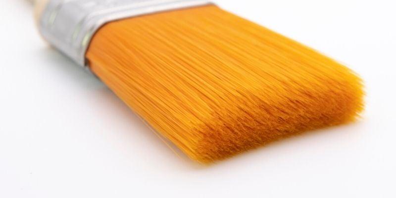 Synthetic Paint brush bristle close up | Decorating Tools | Univar SC