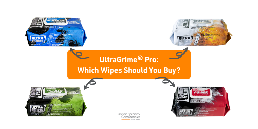 The UltraGrime® Fab 4: Which Excellent Wipes Should You Actually Buy?
