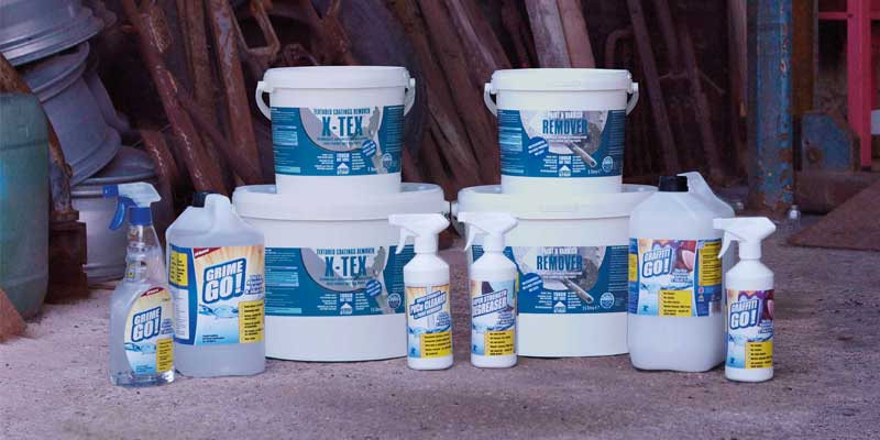 Introducing Trade Strip cleaning products from Eco Solutions