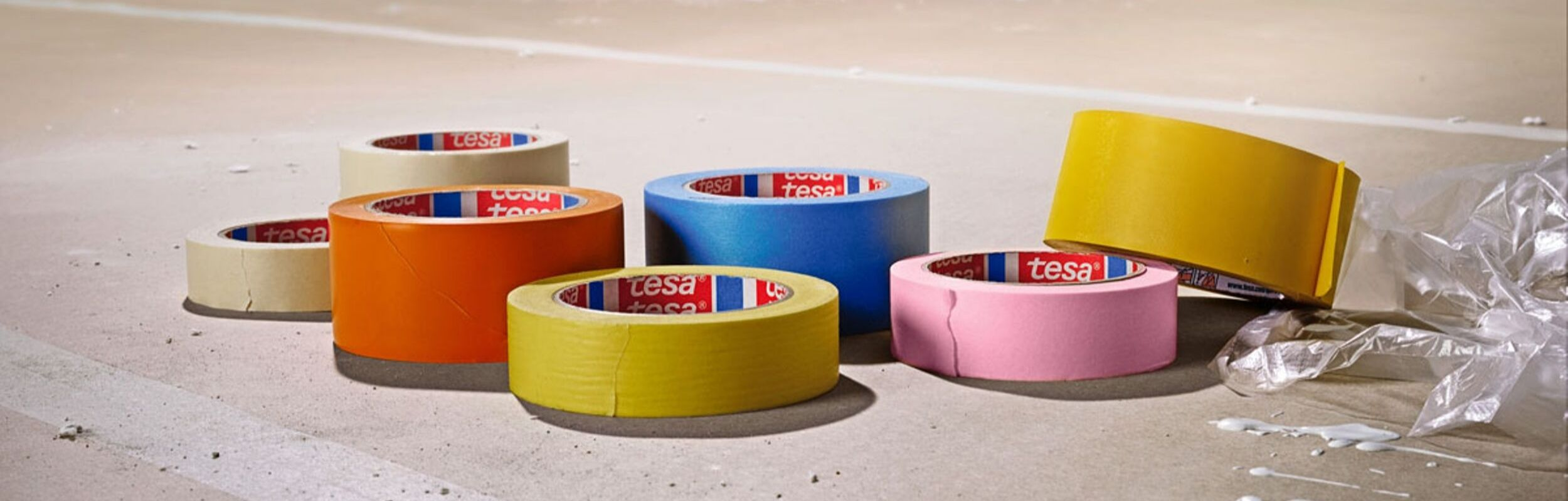 Univar Sticks With Quality With Tesa® Masking Tape Additions.